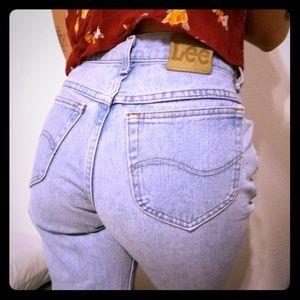 ♡Vintage mom jeans ♡ Lee Brand 28×29